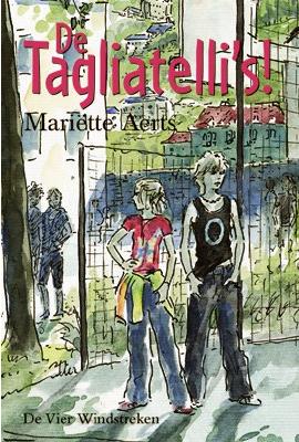 Voorkant van het boek: De Tagliatelli's