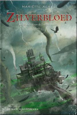 Voorkant van het boek: Zilverbloed