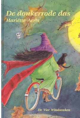 Voorkant van het boek: De donkerrode das