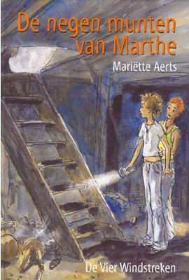 Voorkant van het boek: De negen munten van Marthe